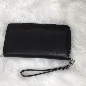 Halogen Black Wallet zip up